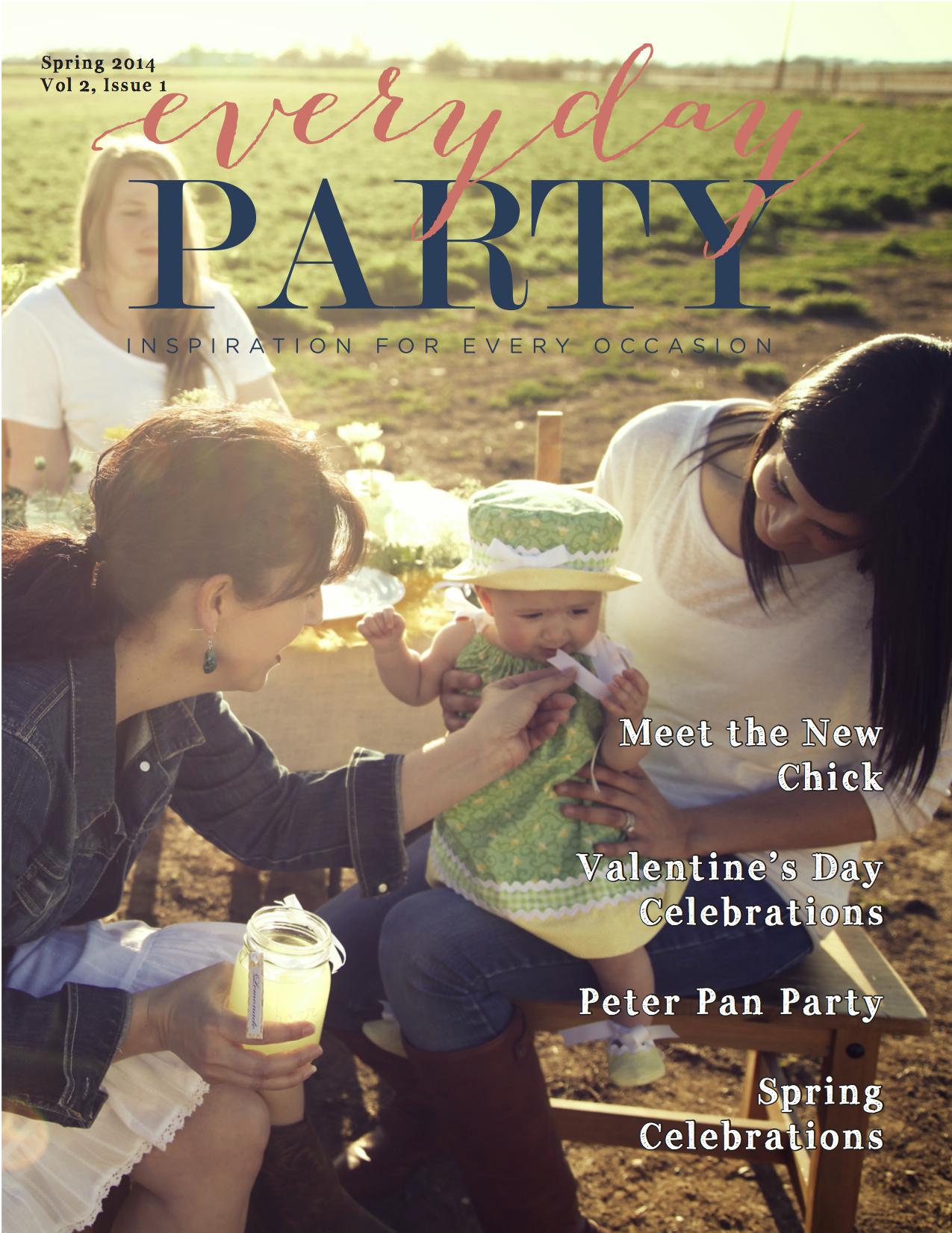 Everyday Party Magazine Volume 2 Issue 1
