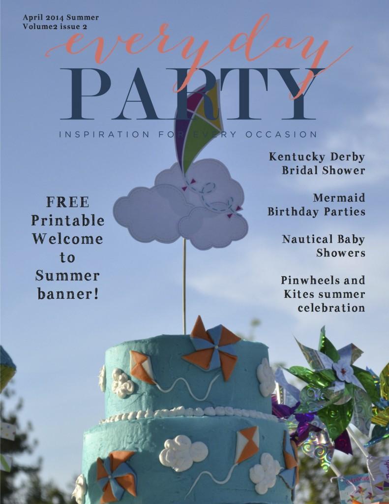 Everyday Party Magazine Summer 2014