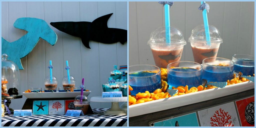 Shark Week Flick & Float Pool Party