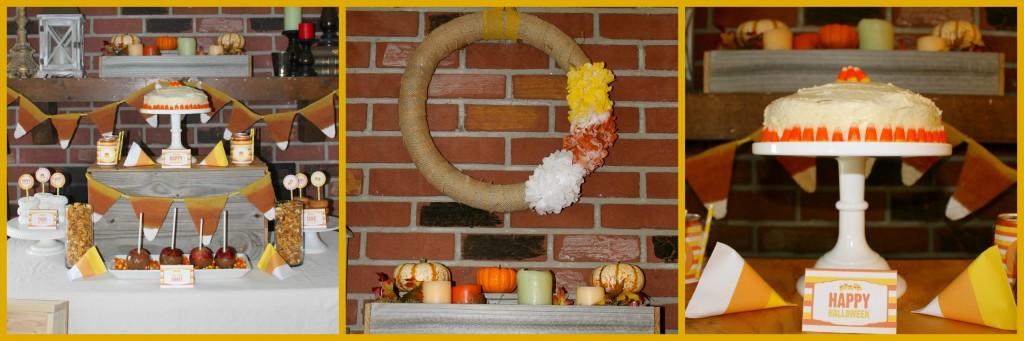 Candy Corn Halloween Celebration