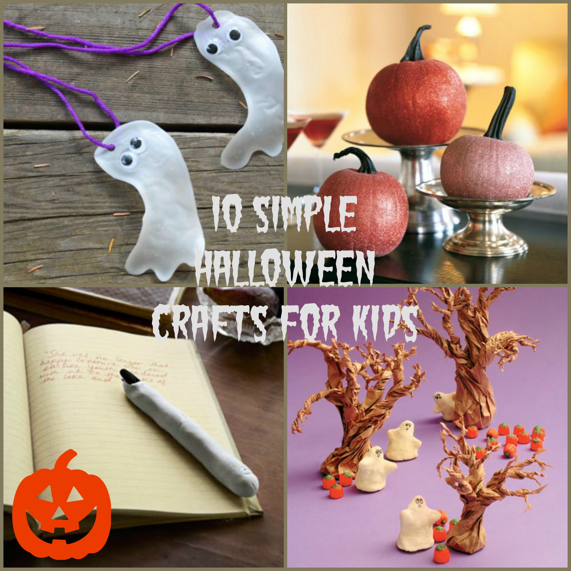 easy halloween crafts for kids ten simple crafts for everyday magazine 6520