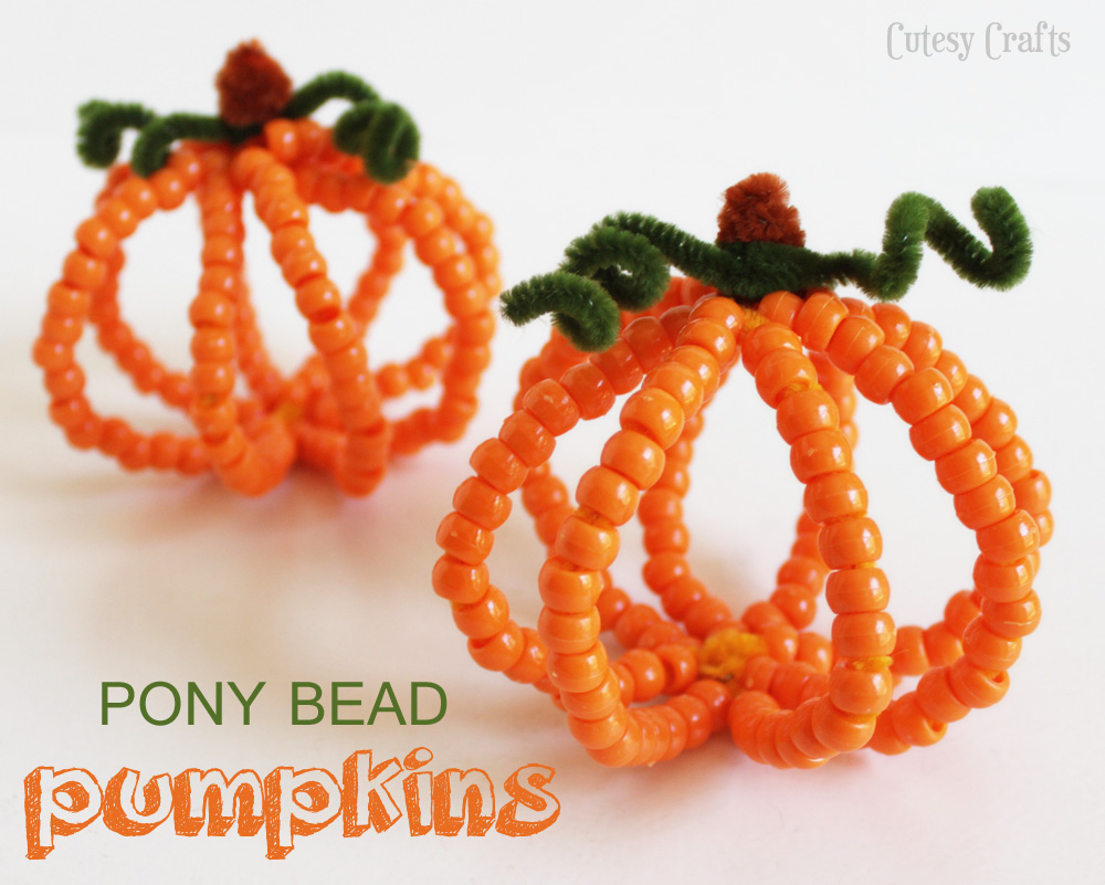 Ten simple halloween crafts for kids everyday party magazine for Simple fall crafts for kids