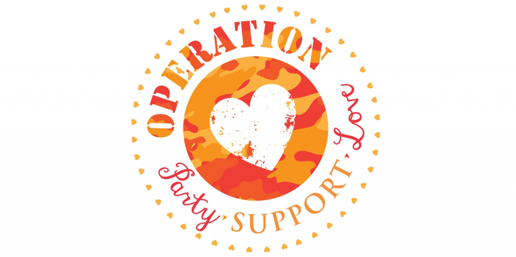 Operation: Party. Support. Love.