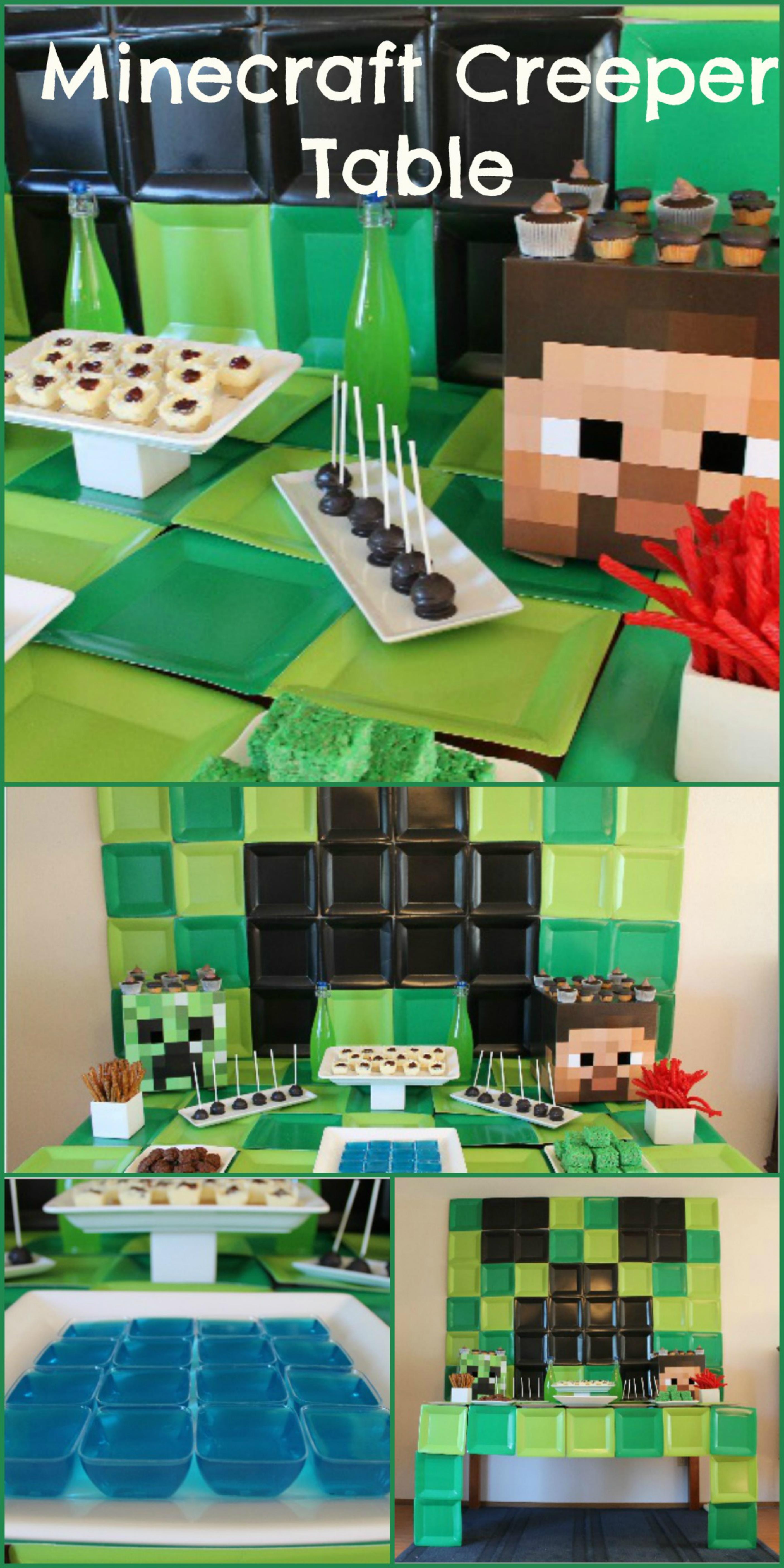 Minecraft Birthday Party Everyday Party Magazine