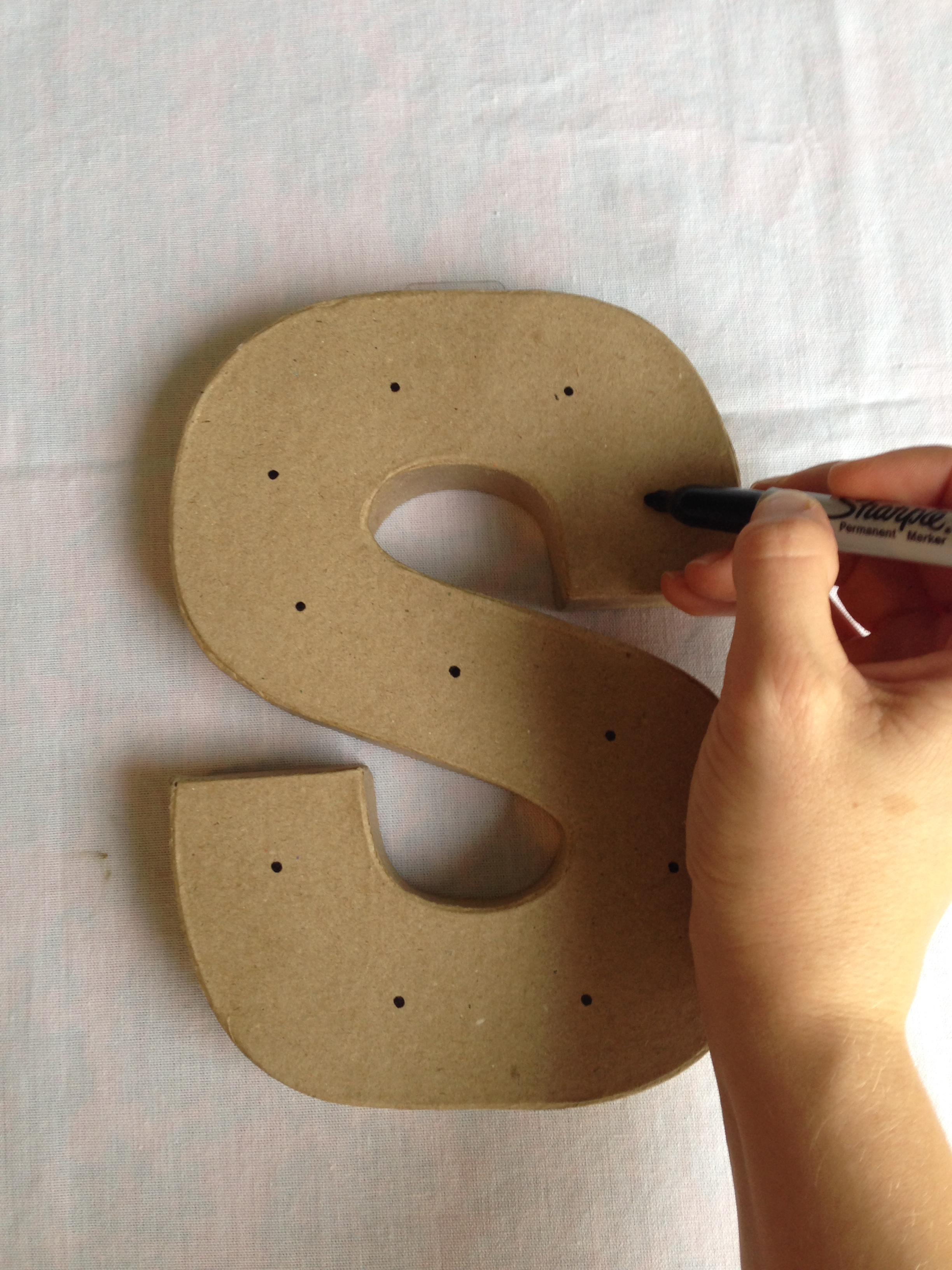 Everyday Party Magazine Marquee Letters
