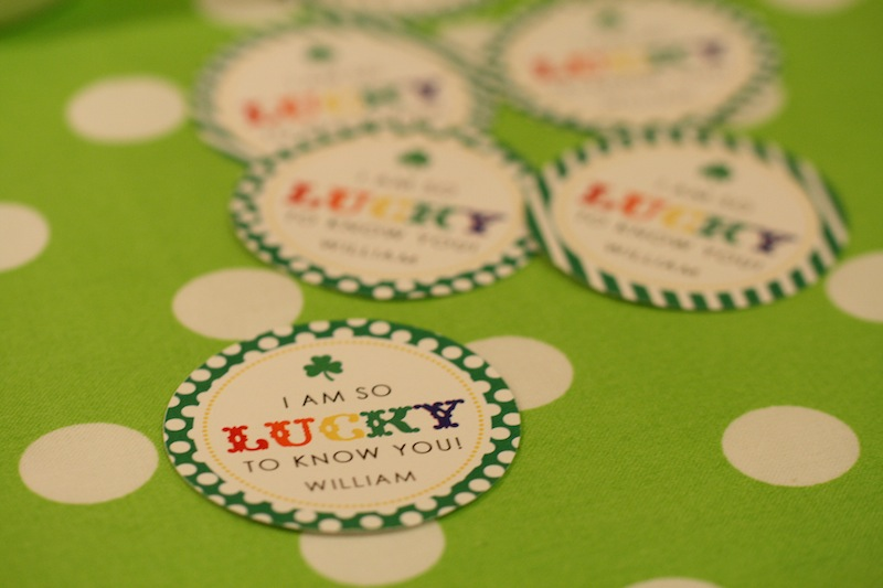Lucky to know you printable tag   Free printable by Lauren Haddox Designs      Everyday Party Magazine