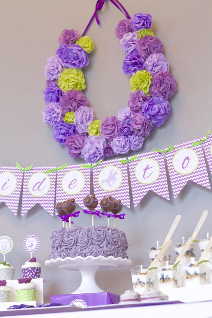 Everyday Party Magazine Kentucky Derby Bridal Shower EPM Summer 2014