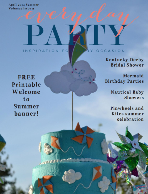 Everyday Party Magazine Summer 2014 Issue