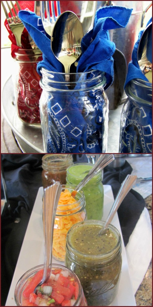 10 uses for mason jars Three Little Monkeys Studio by Everyday Party Magazine