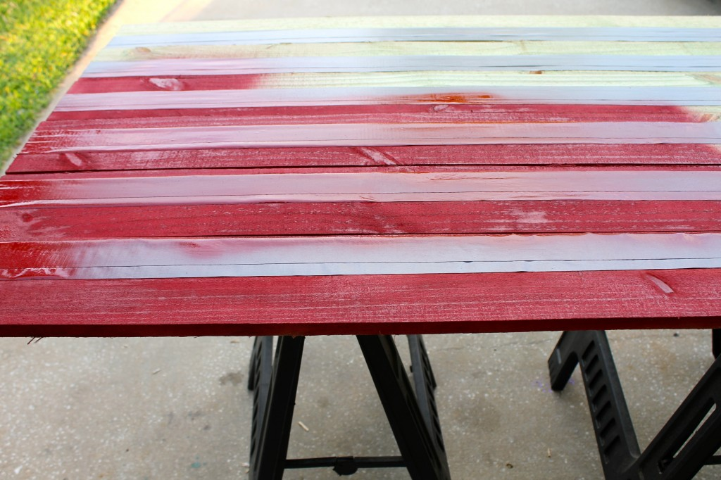 Rustic Wood Flag DIY