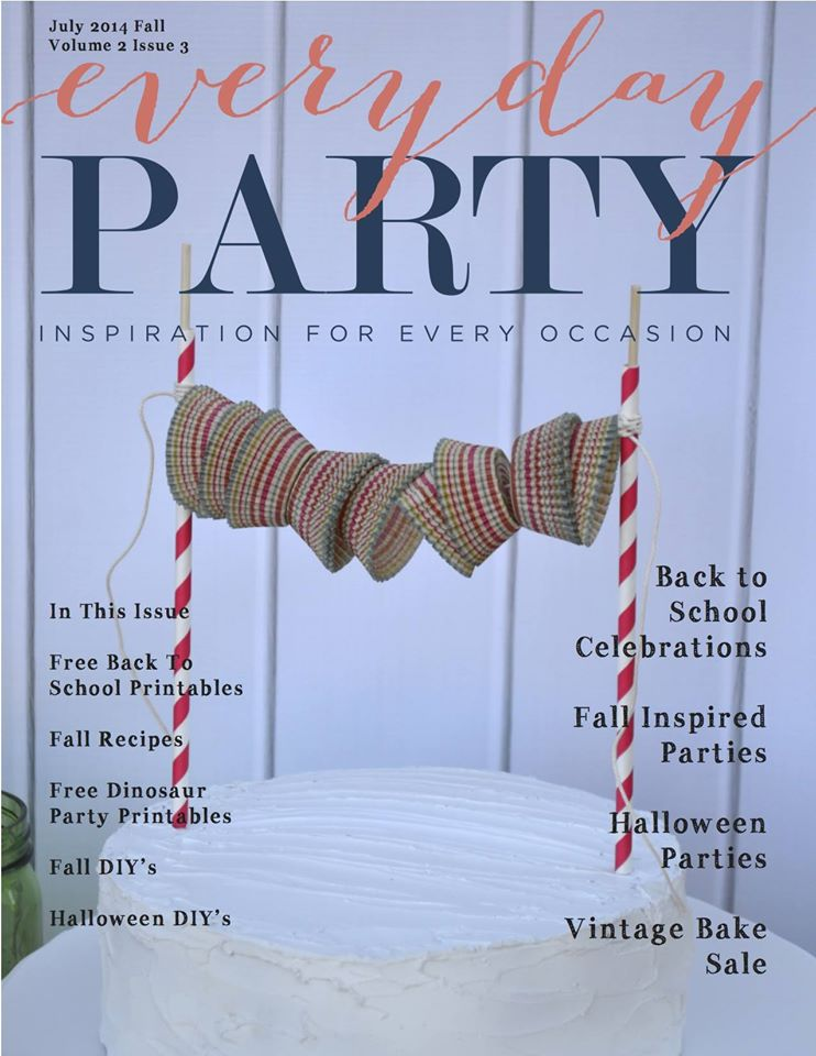 Everyday Party Magazine Fall 2014