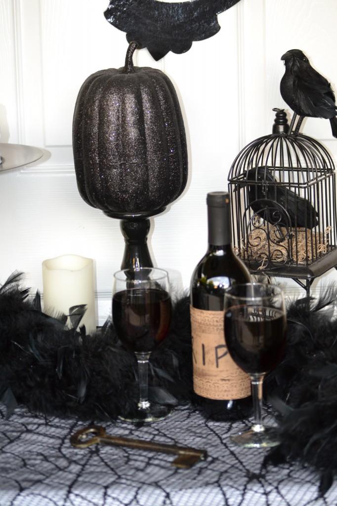 Everyday Party Magazine Easy Halloween Bottle Label