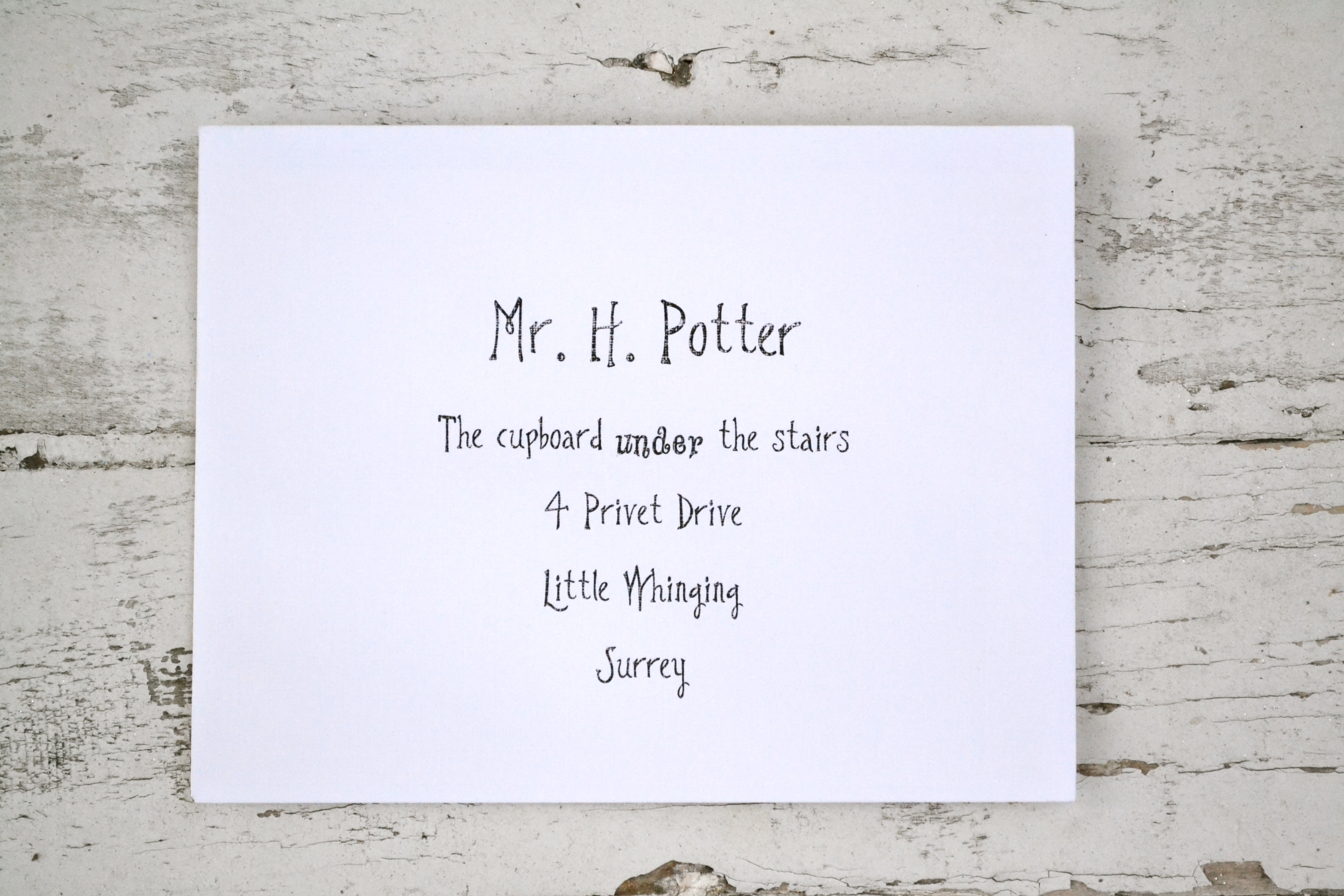 It is a photo of Selective Harry Potter Envelope Printable