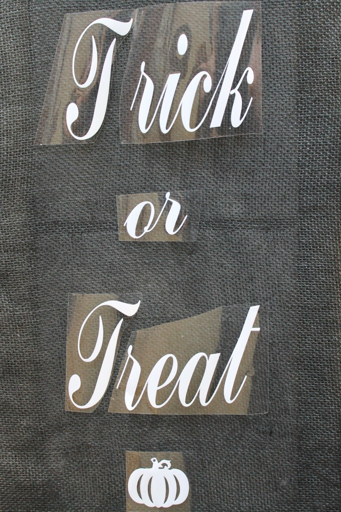 Everyday Party Magazine Trick or Treat Sign DIY Cricut Design Space Star Challenge