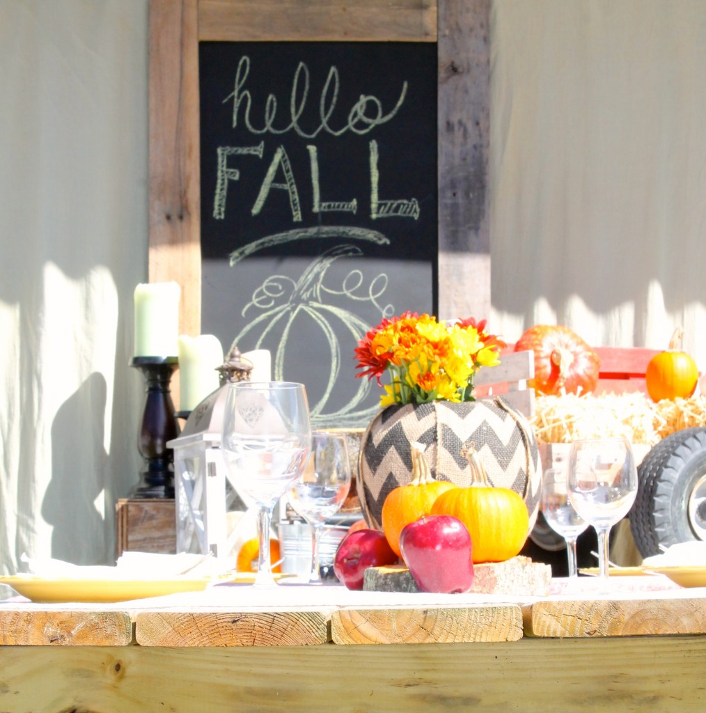 Fall Tablescape Challenge