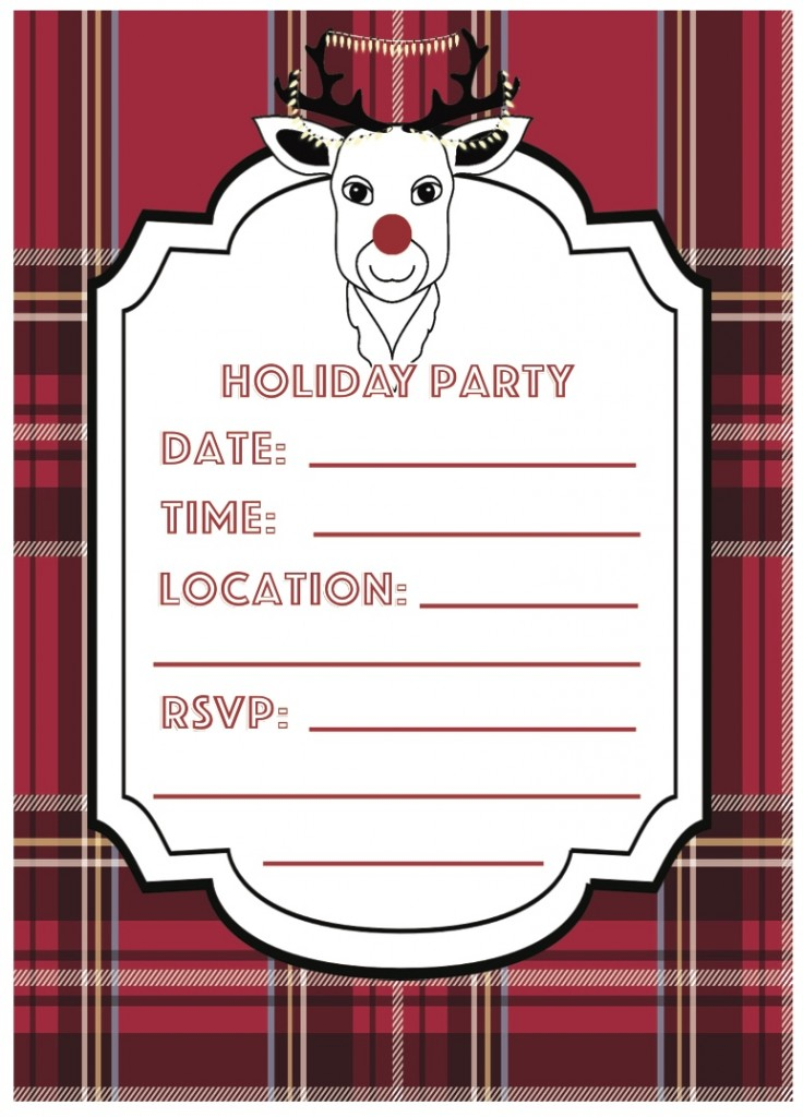 Everyday Party Magazine Ugly Sweater Party Printables