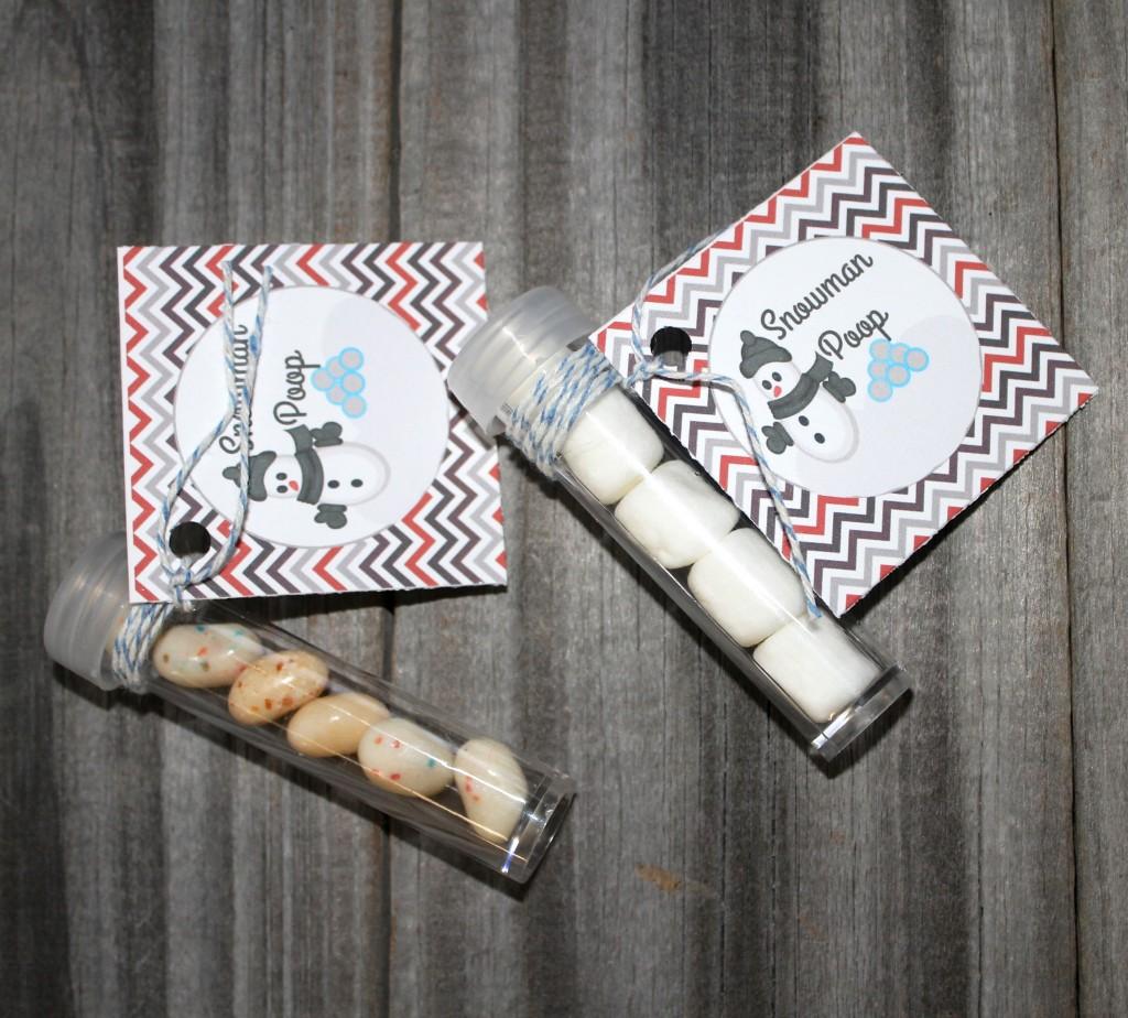 poop printable tag snowman poop printable tic tac candy printable