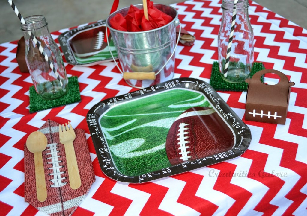 Everyday Party Magazine  Football Party by Creativities Galore