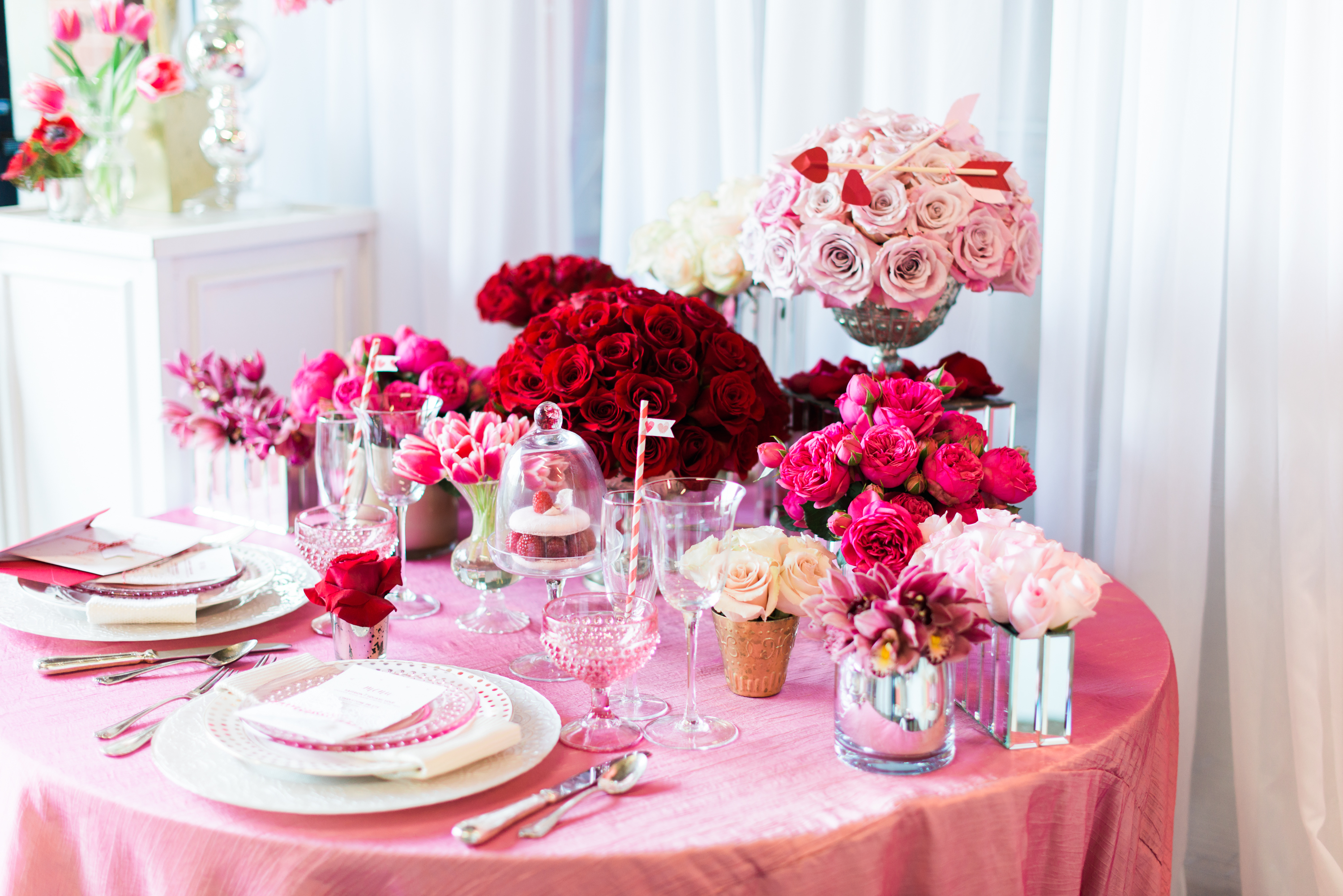 valentine 39 s party styling tips by intrigue design studio everyday party magazine
