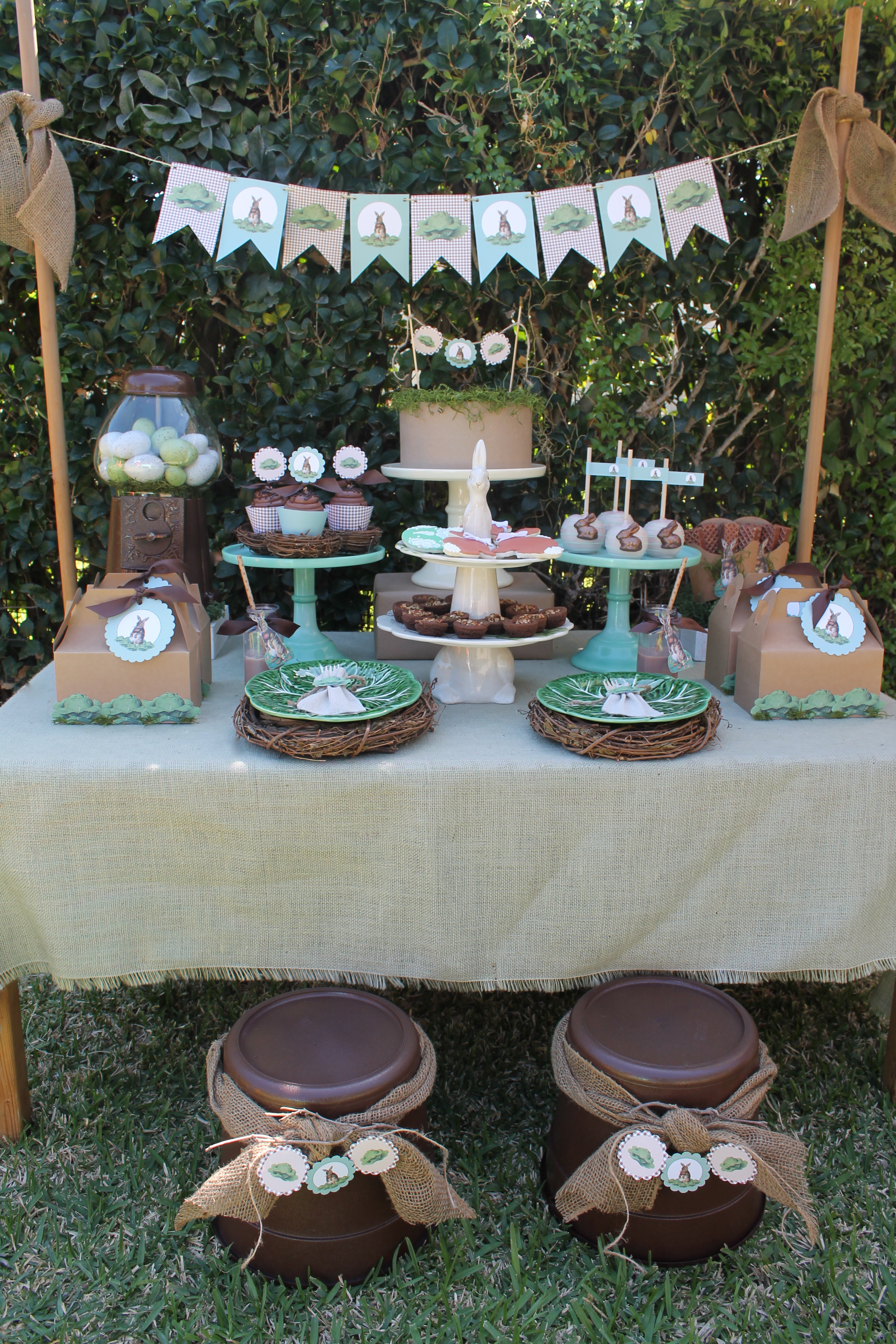 Vintage Easter Everyday Party Magazine Styled By LAURAS Little PARTY