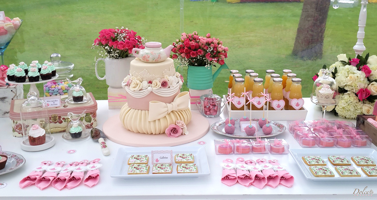 Garden Tea Party By Dolce Catering Boutique On Everyday Magazine