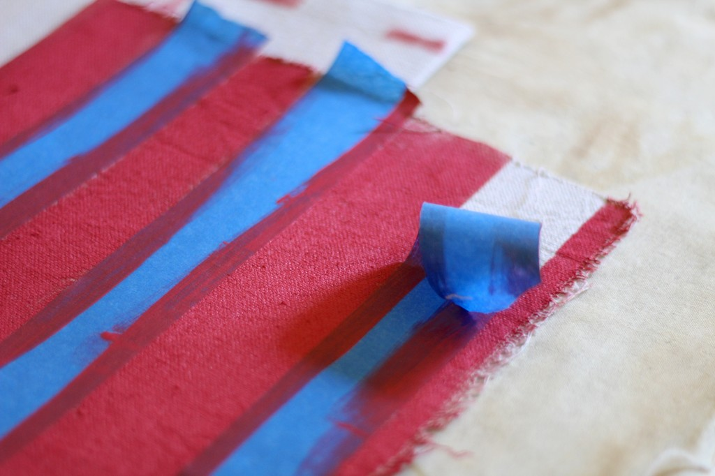 Everyday Party Magazine Flag Inspired Napkin