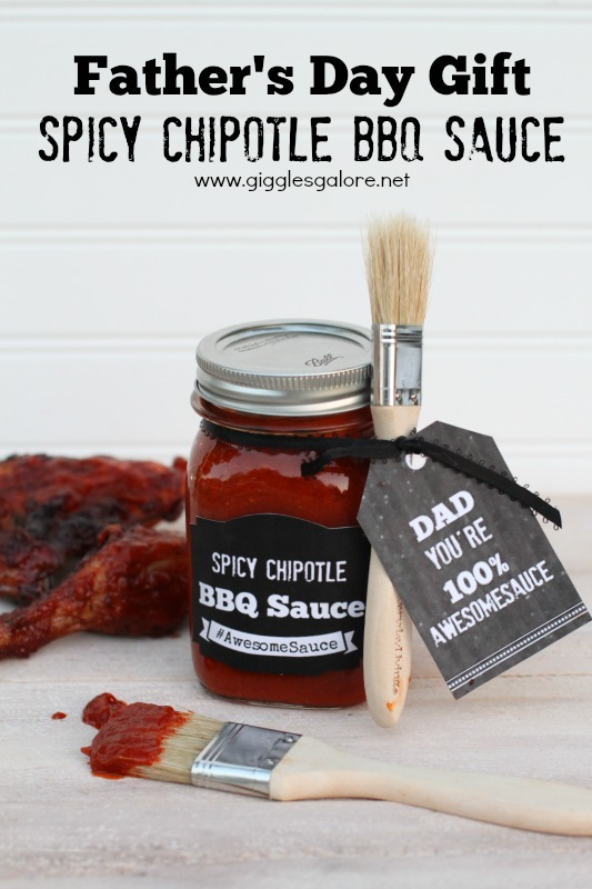 Awesome-sauce Father's Day Gift