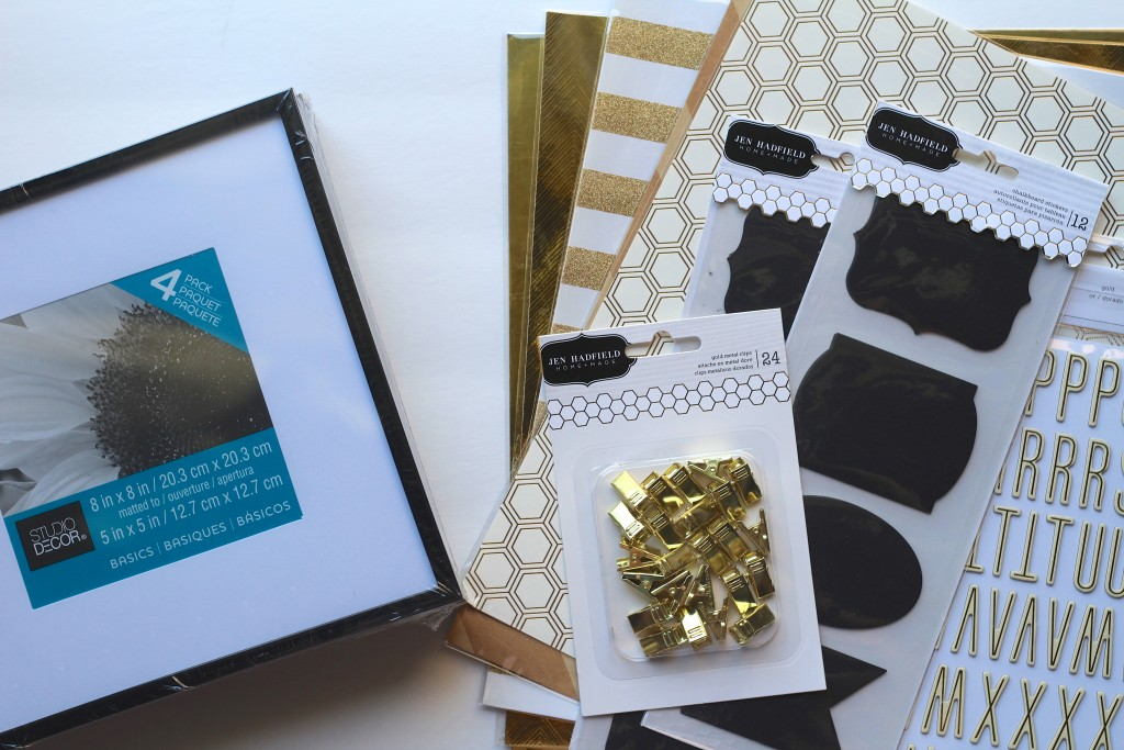 Frame Upcycle Everyday Party Magazine Collage with Jen Hadfield Homemade (Supplies)