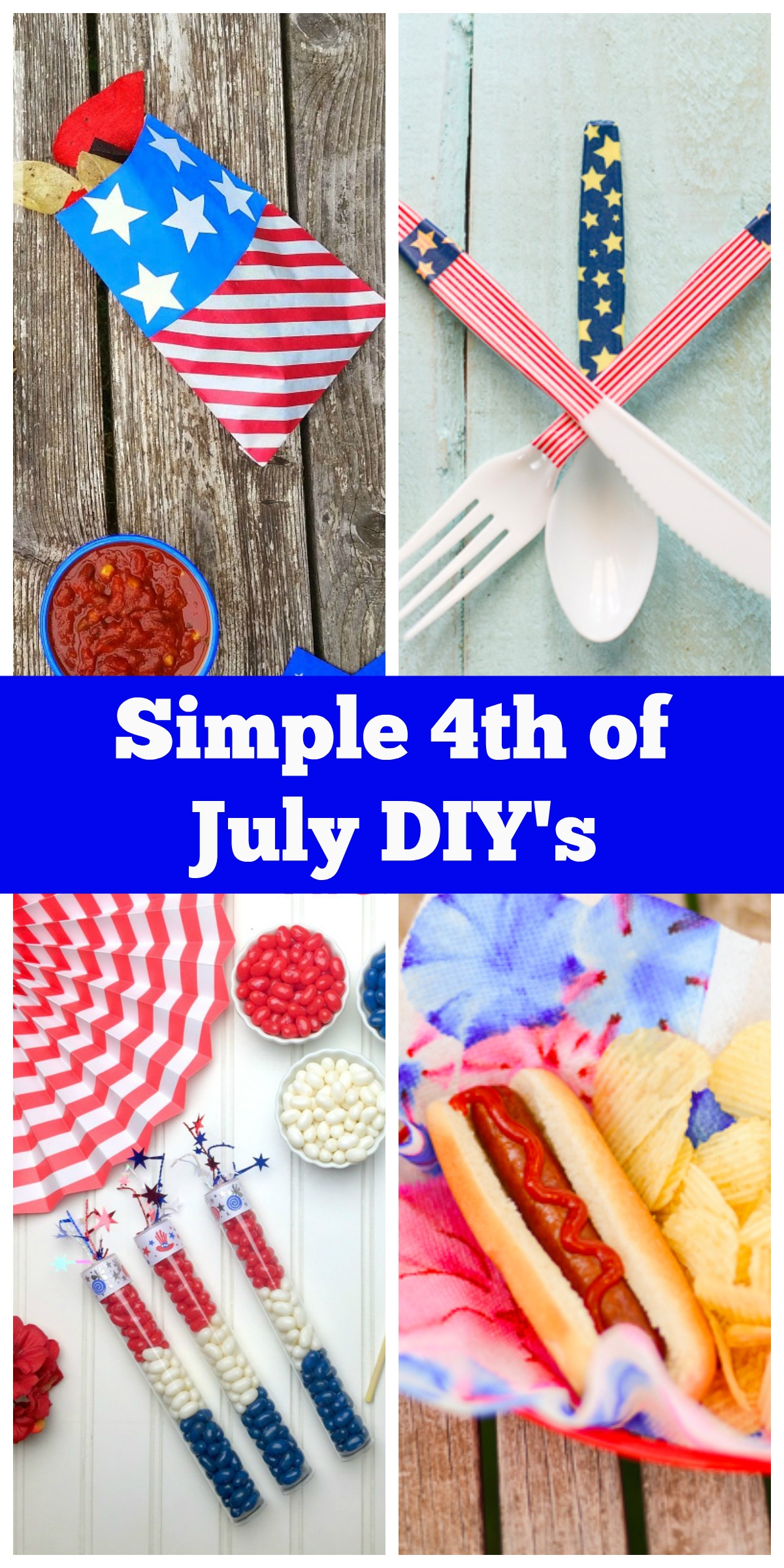 Simple 4th Of July Diy S Everyday Party Magazine