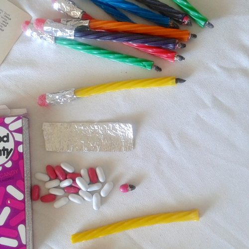 Back to School Pencil Treat DIY by My Thrifty Sister on Everyday Party Magazine