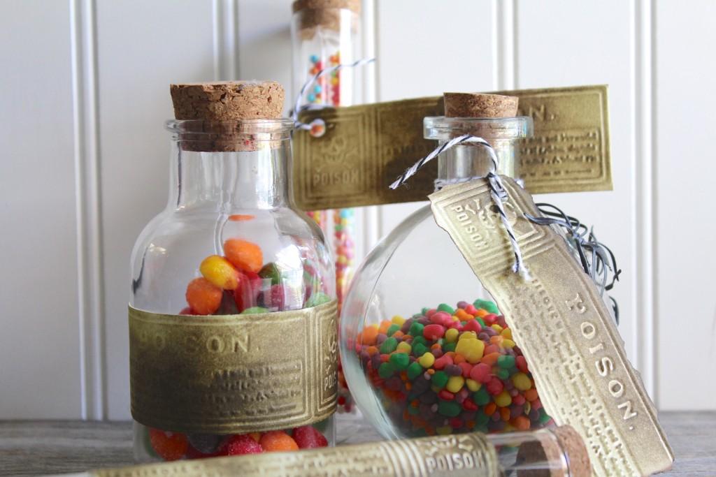Simple 5 Minute DIY Poison Bottle Labels