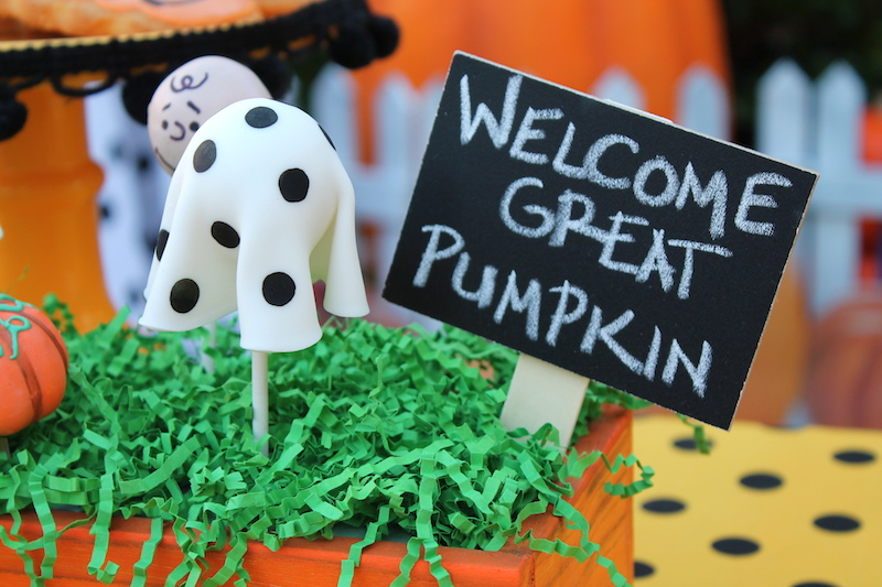 Everyday Party Magazine The Great Pumpkin Party by LAURA'S little PARTY