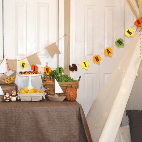 Everyday Party Magazine Kids Thanksgiving Table