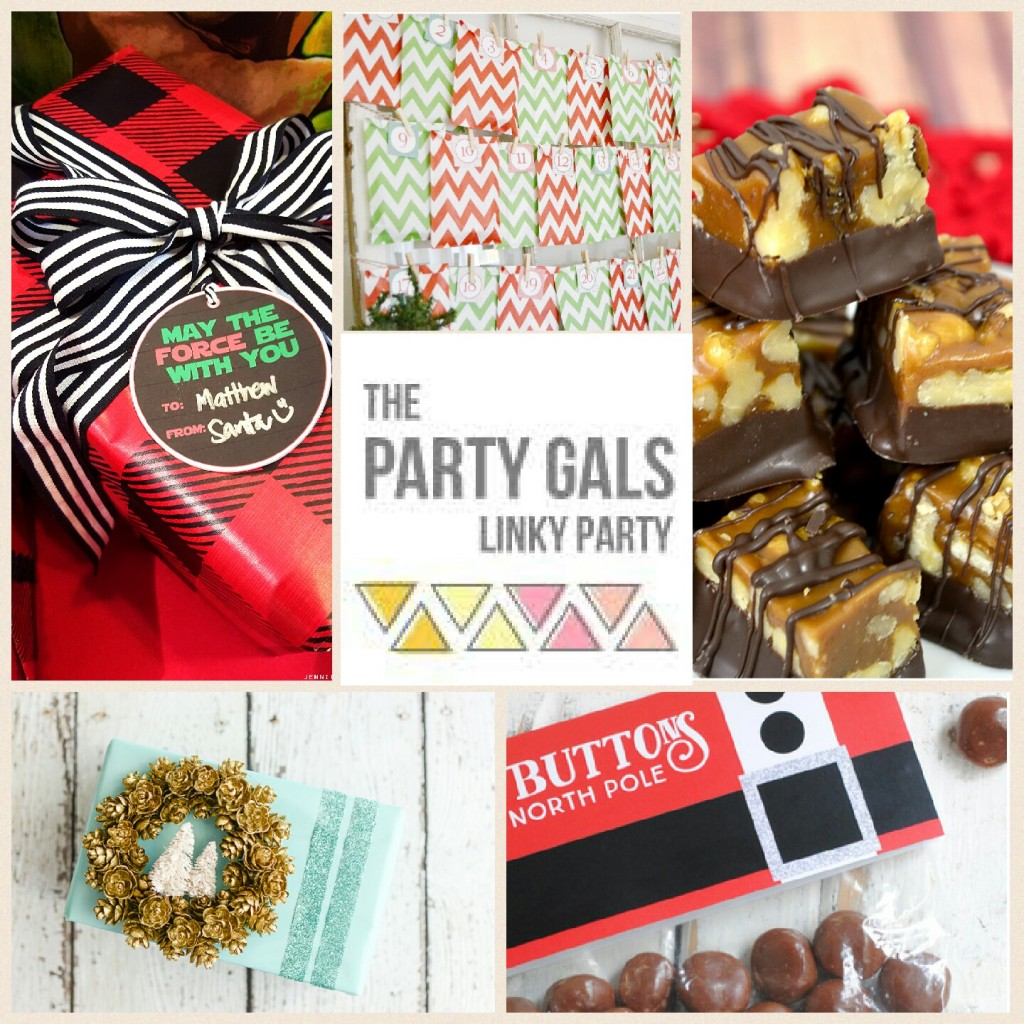 Party Gals Linky Party #13 Christmas Inspiration