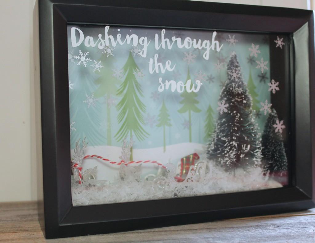 Diy Christmas Shadow Box Everyday Party Magazine