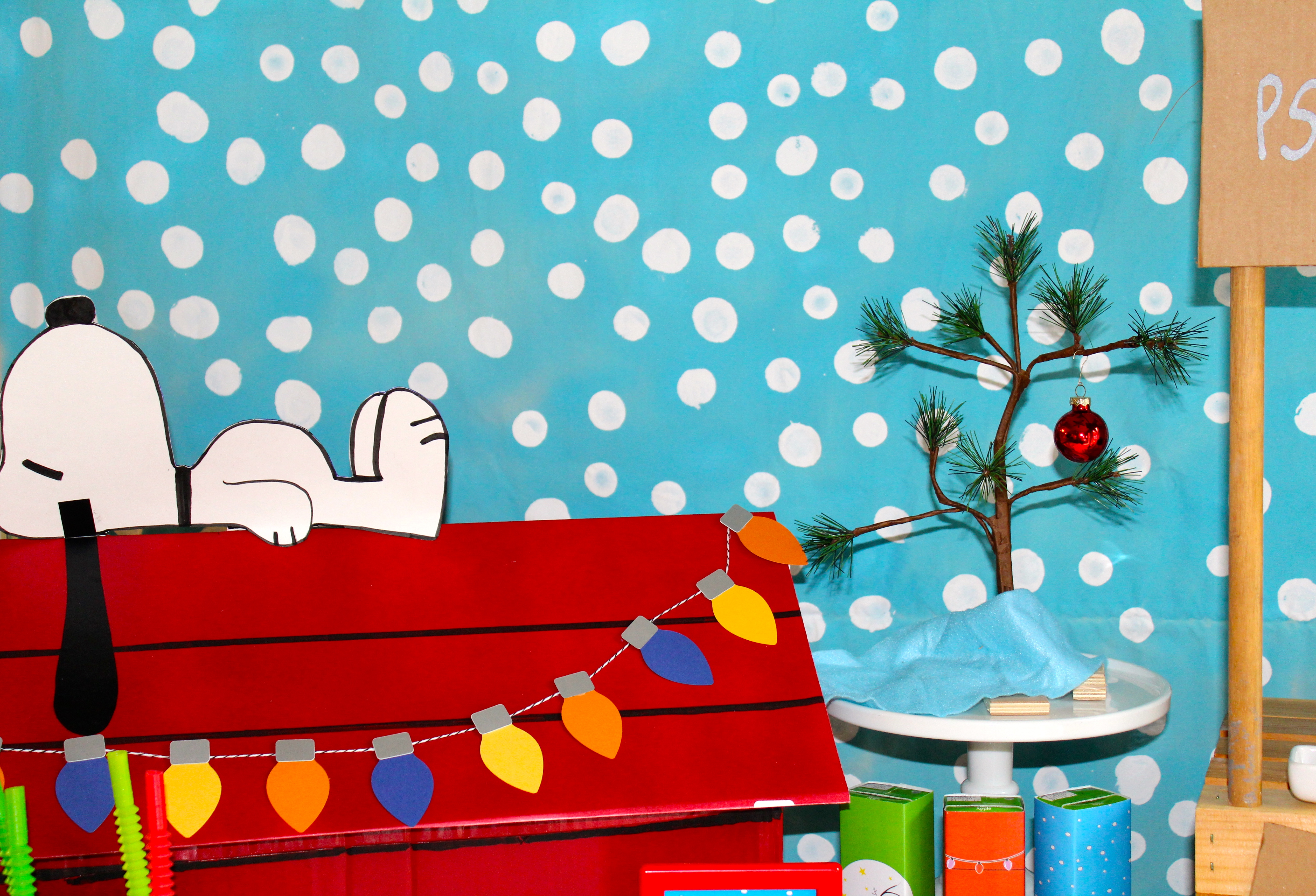 everyday party magazine charlie brown christmas party - Charlie Brown Christmas Movie