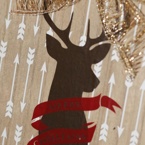Everyday Party Magazine Secret Santa Deer Love