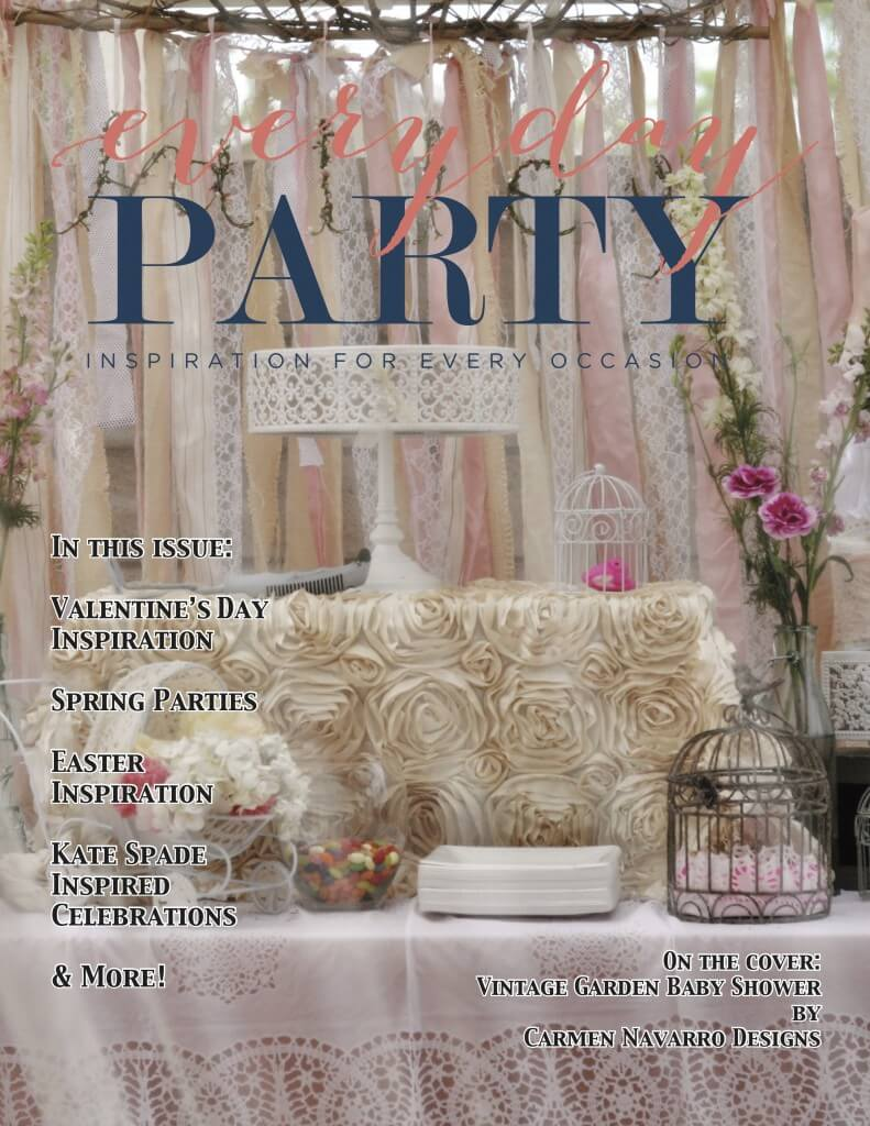 Everyday Party Magazine Spring 2016 Cover