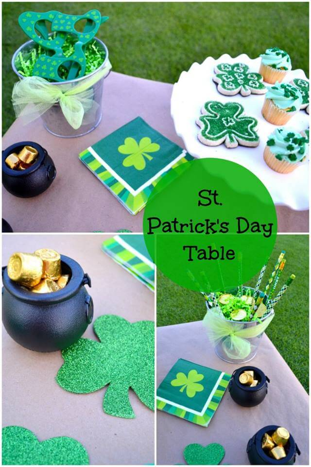 St. Patrick's Day Linky Party
