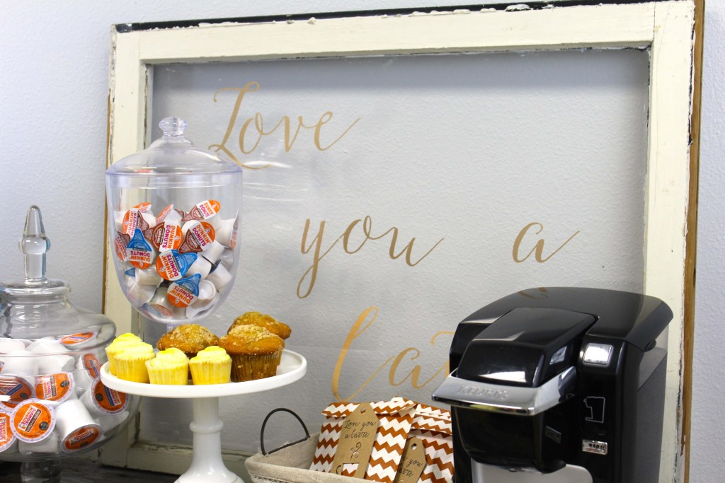 Everyday Party Magazine Love You A Latte Bridal Shower