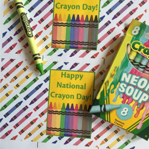 Everyday Party Magazine National Crayon Day Free Printables