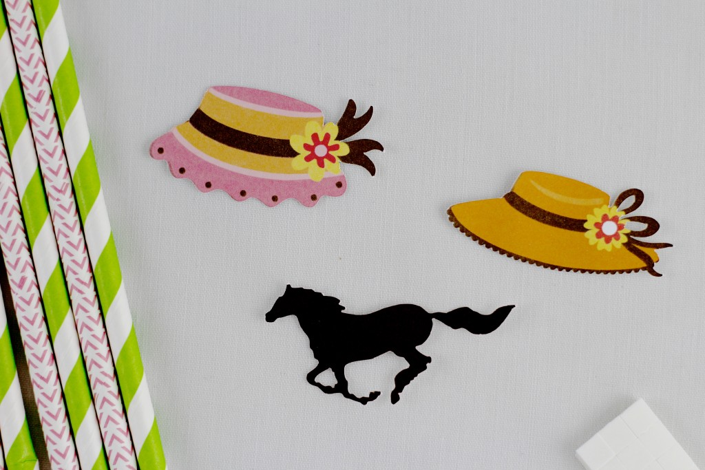 Everyday Party Magazine Simple Kentucky Derby Straws