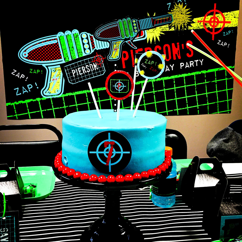 Everyday Party Magazine Laser Tag Birthday By Andersruff