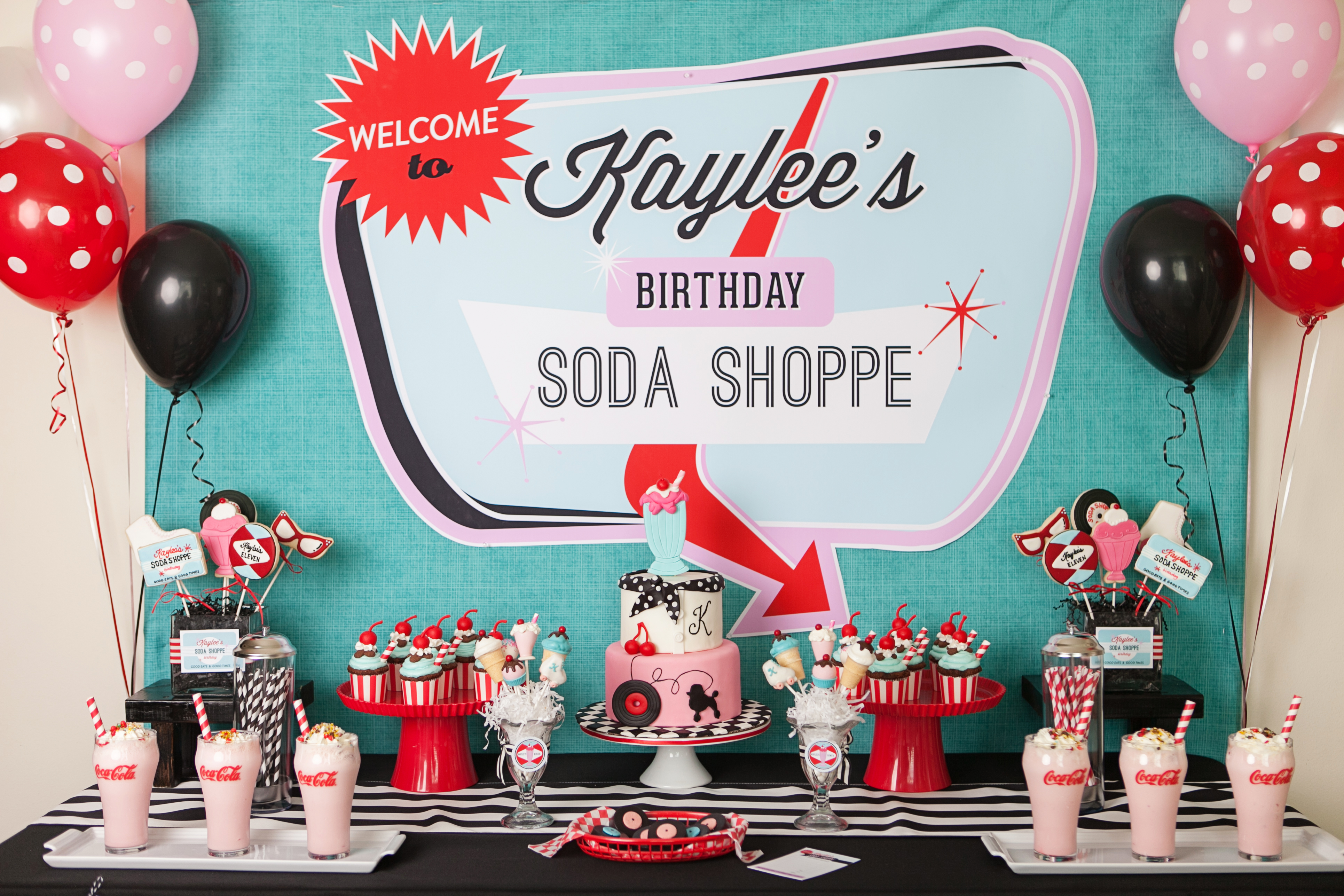 Retro Soda Shoppe Everyday Party Magazine