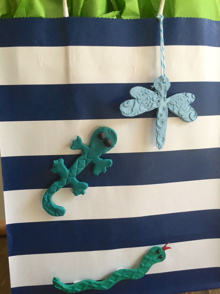 Gift Bag Tags with Sculpey Clay