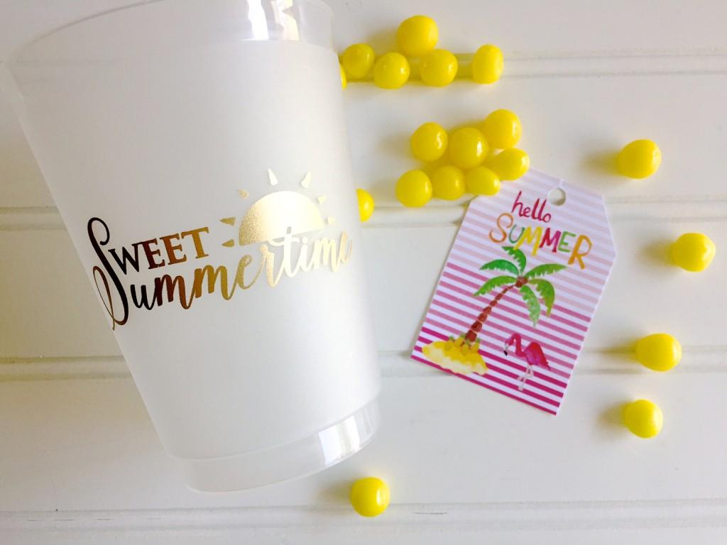 Hello Summer Free Printable Tag