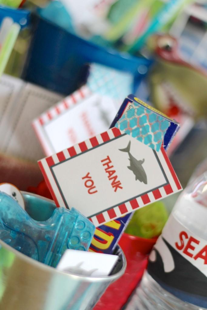 Shark Week Party Printables