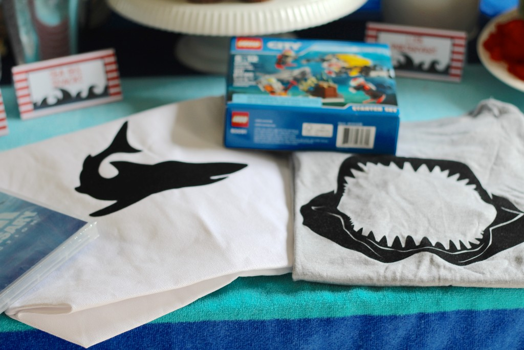 Shark Week Shirt DIY