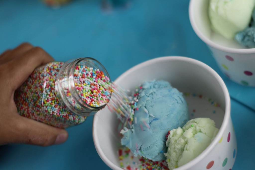 Ice Cream Play Doh