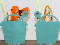 Everyday Party Magazine Sand Bucket Party Favors
